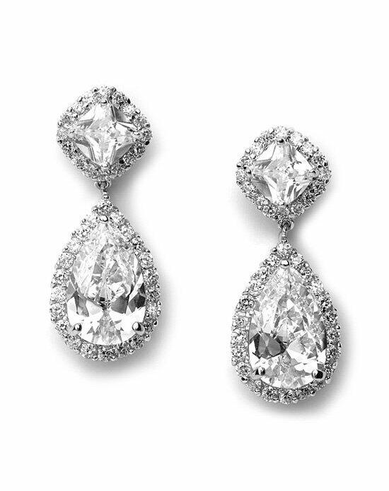 USABride Allure CZ Wedding Earrings Wedding Earrings photo
