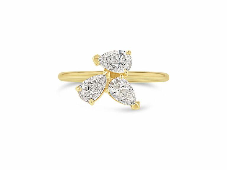 Grace Lee three stone ring