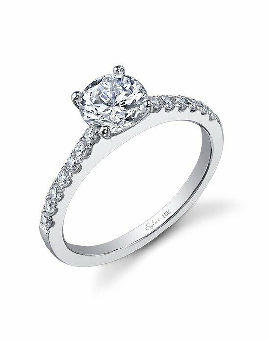 Sylvie Collection SY750 Engagement Ring photo
