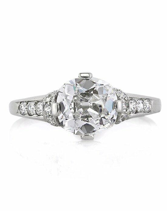 Mark Broumand 2.09ct Old Mine Cut Diamond Engagement Ring Engagement Ring photo