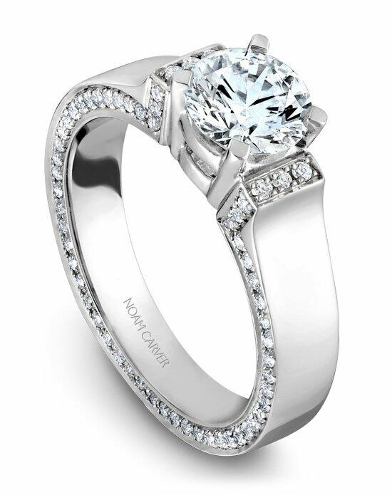 Noam Carver B042-03WS-100A Engagement Ring photo