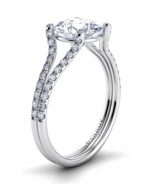 Danhov Eleganza Split Shank Engagement Ring photo