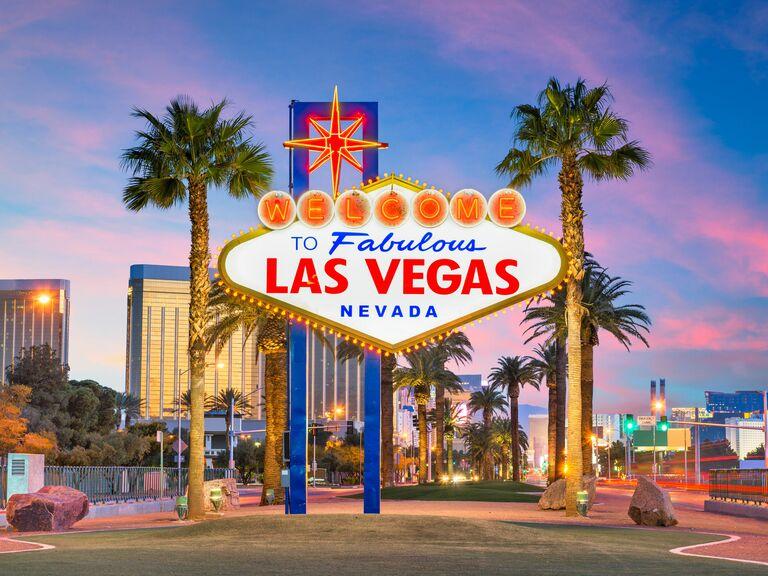 Las Vegas iconic sign
