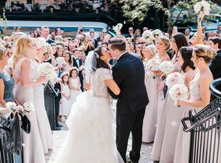 Keeping 420 wedding guests full, engaged and entertained is no easy task, but it's one Alexandra knew she and Jaysen were prepared for from the time t