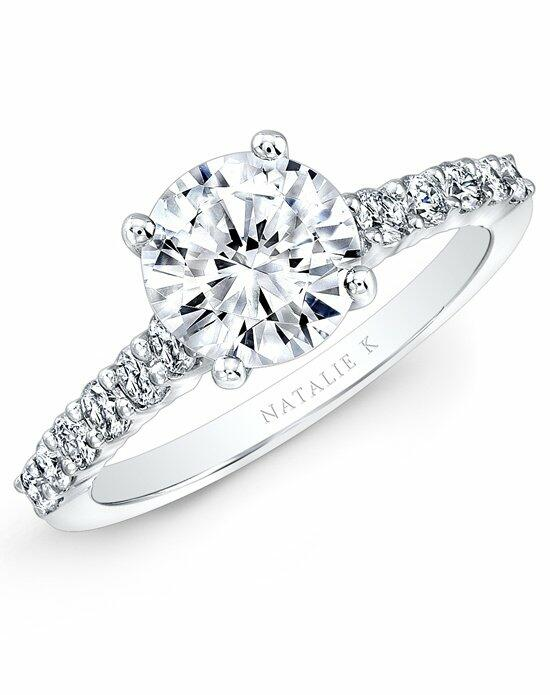 Natalie K Classique Collection - NK29368-18W Engagement Ring photo
