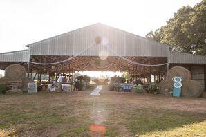 Rustic Barn Pavilion Outdoor Wedding