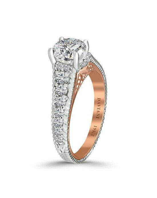 Daviani Love Links Collection DCR1107 Engagement Ring photo