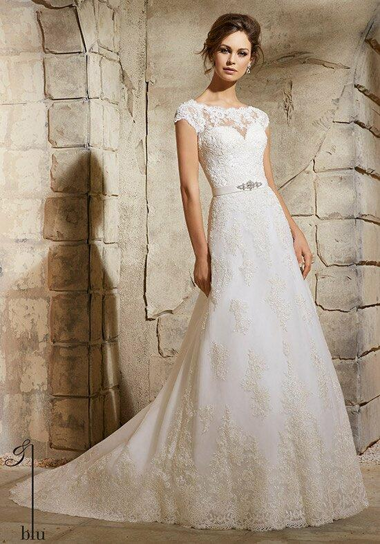 Blu by Madeline Gardner 5370 Wedding Dress photo