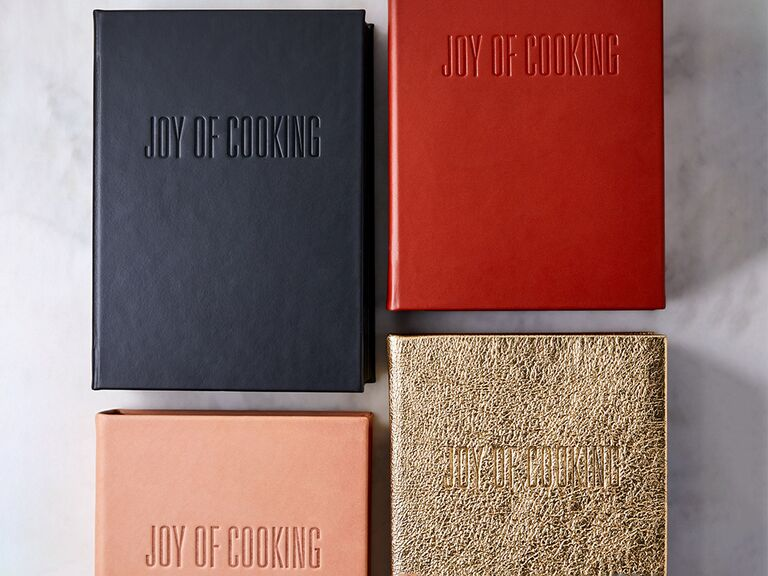 Leather-Bound Joy of Cooking cookbook cover