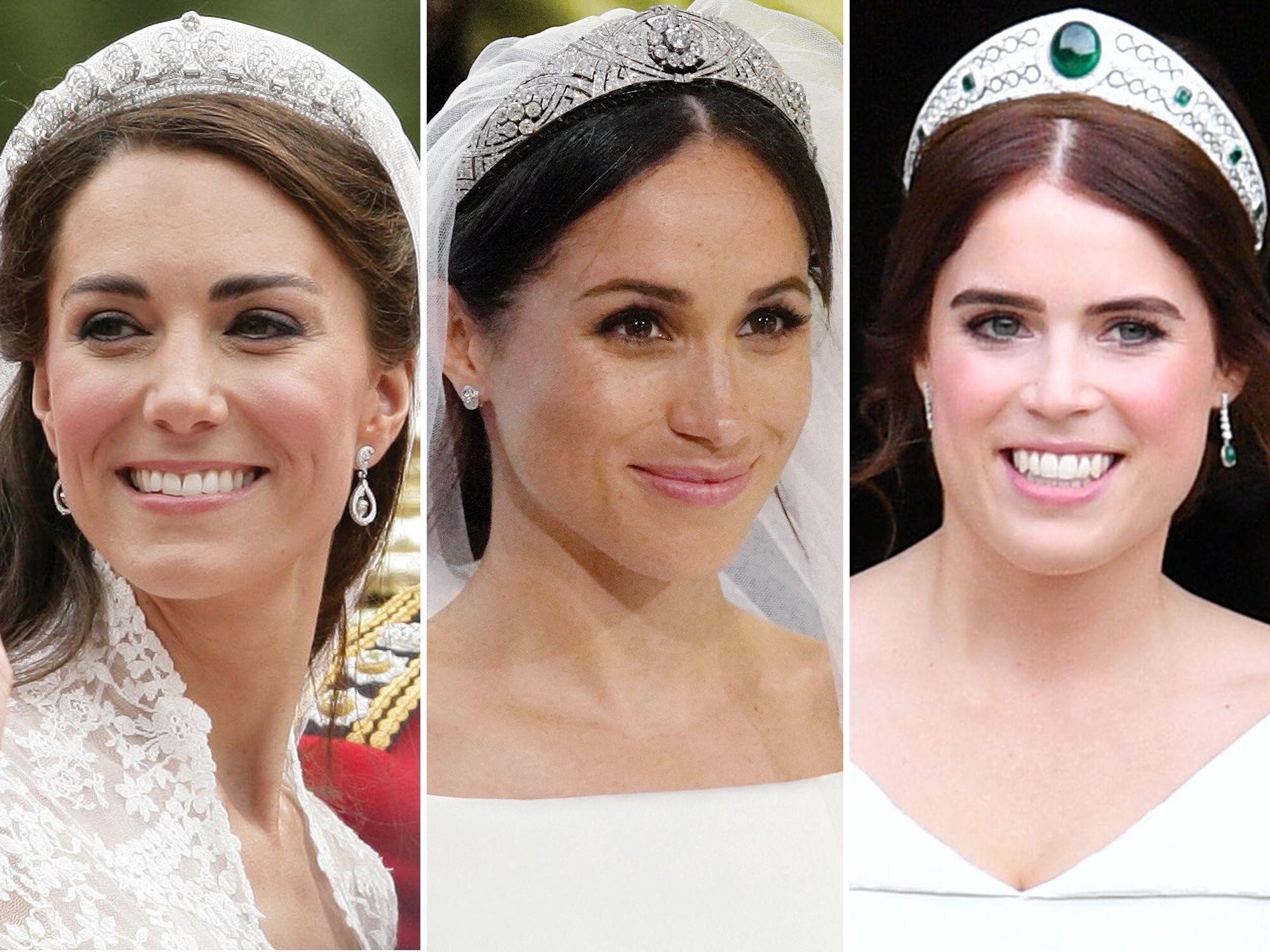 Famous Royal Wedding Tiaras Meghan Markle Kate Middleton Tiaras