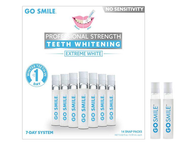 nordstrom go smile whitening treatment set for wedding day teeth whitener