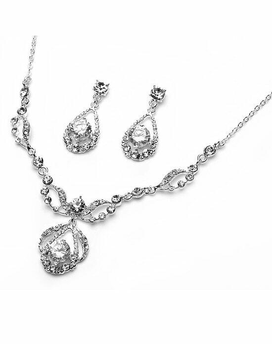 USABride Pure Sparkle Jewelry Set Wedding Necklaces photo