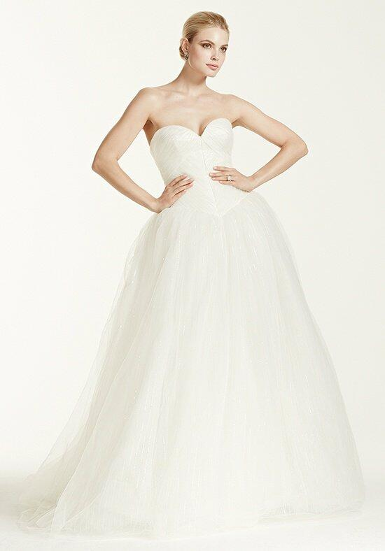 Truly zac posen at david 39 s bridal truly zac posen style for Truly zac posen wedding dress with sequin detail