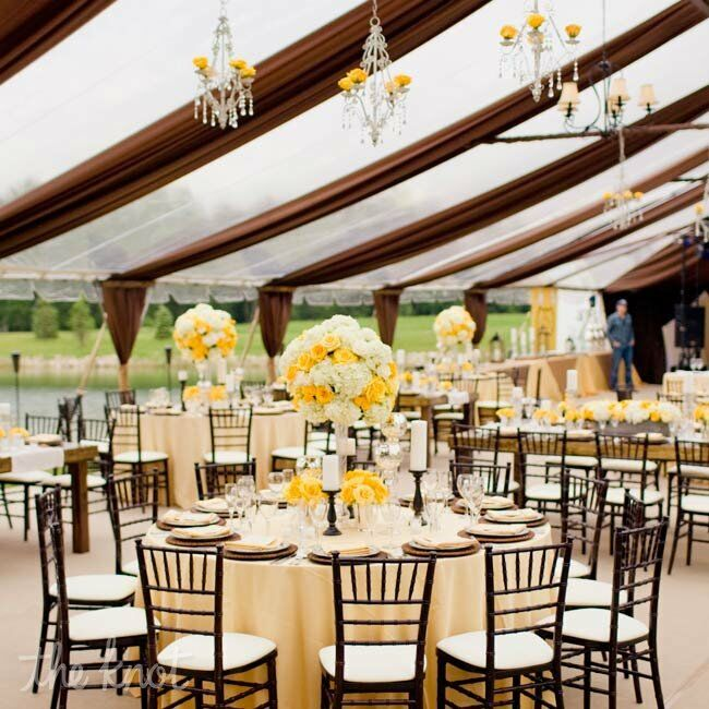 Yellow and Brown Decor
