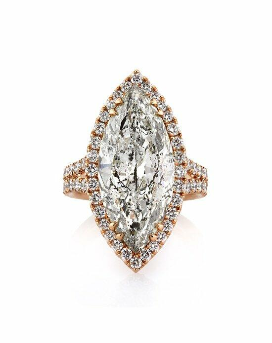 Mark Broumand 9.68ct Marquise Cut Diamond Engagement Ring Engagement Ring photo