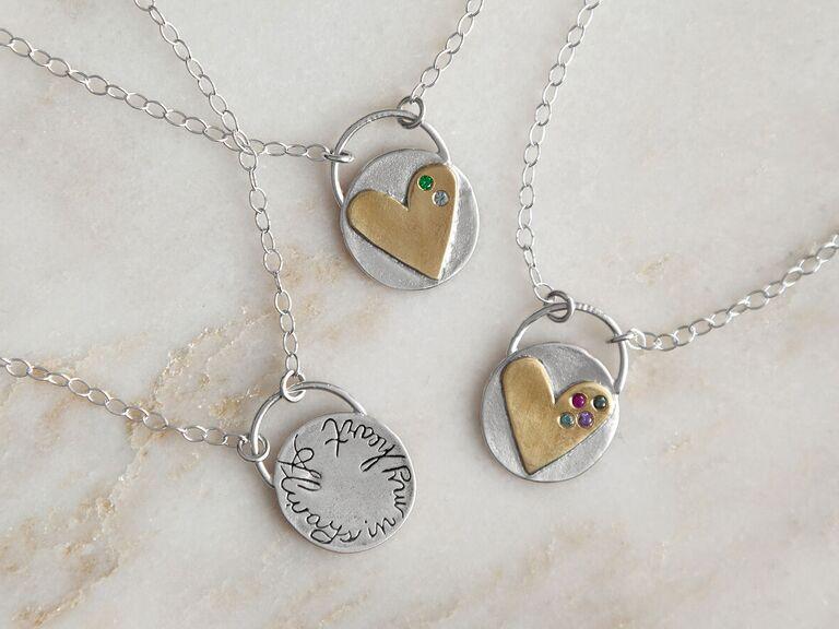 sister bride necklace