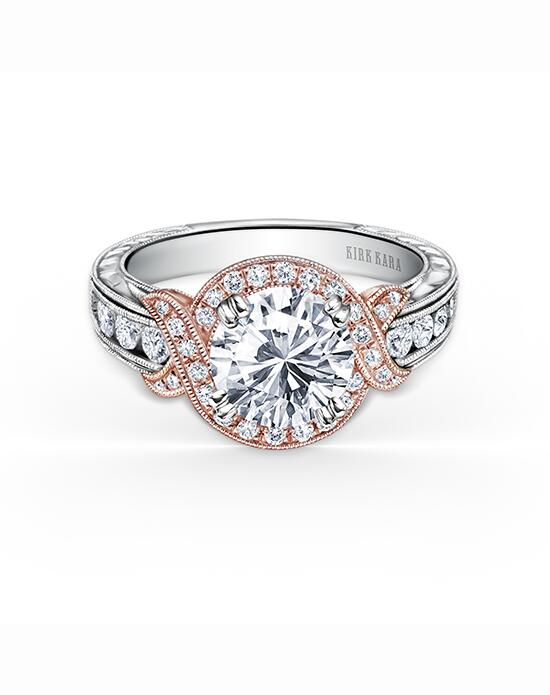 Kirk Kara Pirouetta Collection K250R8RWR Engagement Ring photo