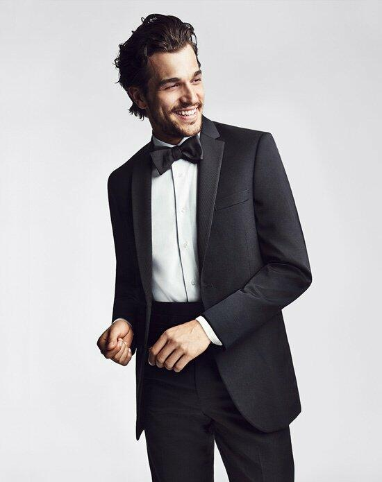 The Men's Wearhouse® BLACK by Vera Wang Notch Lapel Tuxedo Wedding Tuxedos + Suit photo