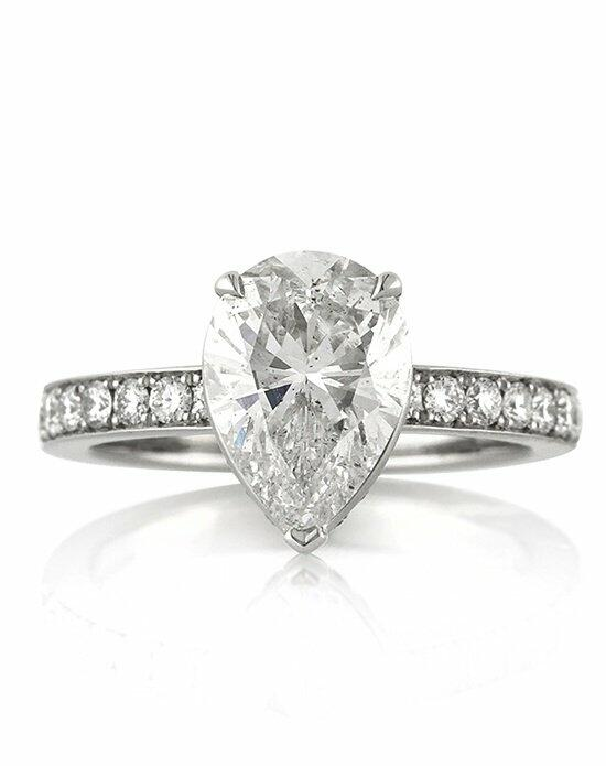 Mark Broumand 3.26ct Pear Shaped Diamond Engagement Ring Engagement Ring photo