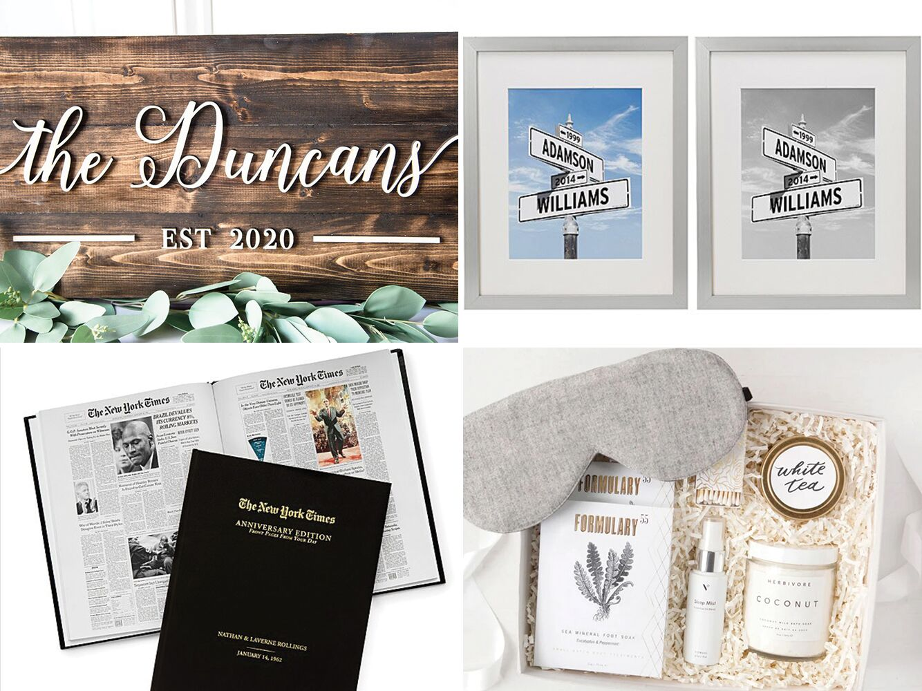 20th Anniversary Gift Ideas for Her