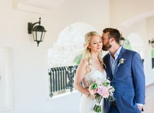 For their early-summer wedding, Lauren Cooper and Andrew Bickel whisked their family and friends off to Cabo San Lucas, Mexico, for a week of fun in t