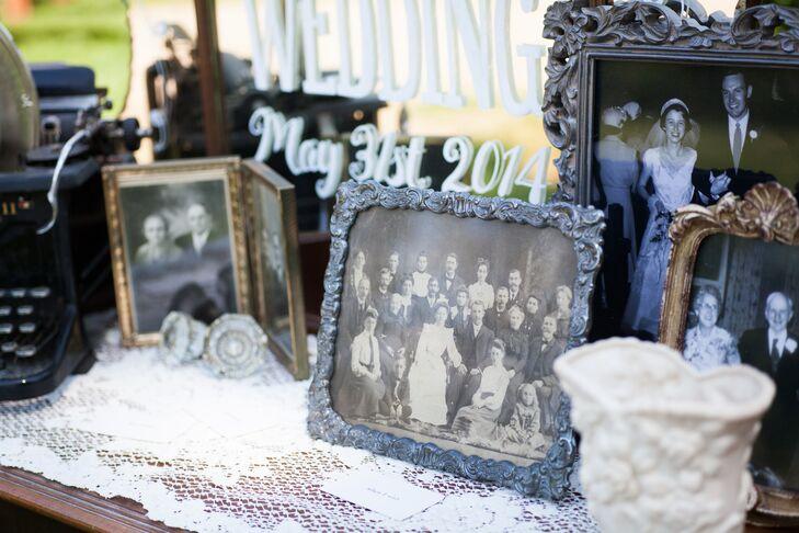 Antique Framed Family Photos