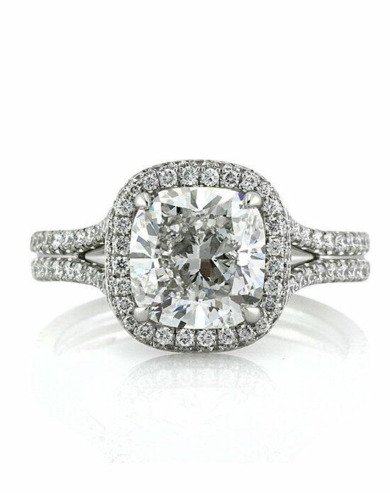 Mark Broumand 3.55ct Cushion Cut Diamond Engagement Ring Engagement Ring photo