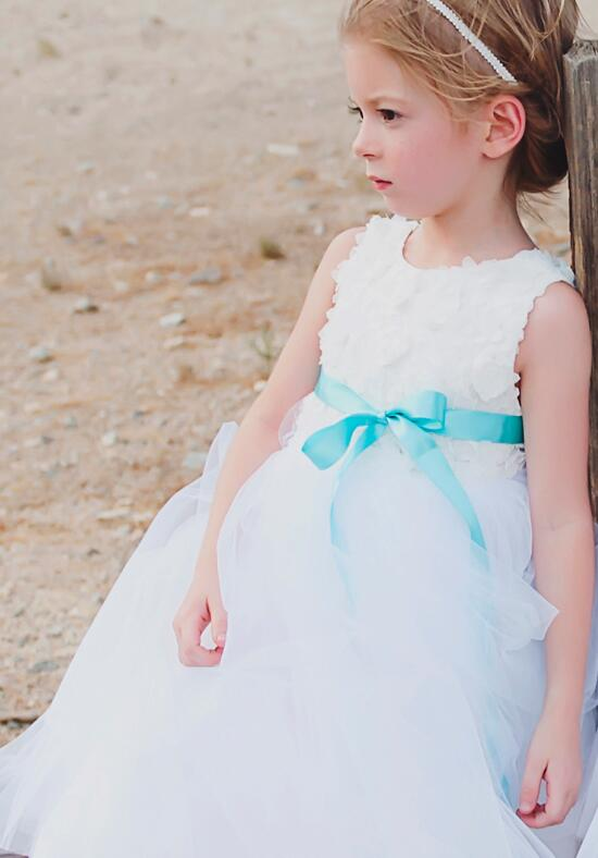 FATTIEPIE Rosette Flower Girl Dress photo