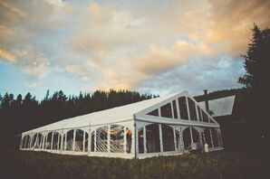 A Tented Reception at a Private Residence