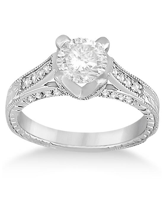 Allurez - Customized Rings UR242 Engagement Ring photo