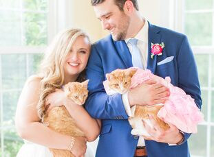 Kelly Pollack (24 and a wedding photographer) and Zachary (Zach) Haynes (24 and a financial representative) outfitted their playful wedding with glitz