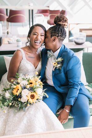 Same-Sex Couple Shares Private Moment at The Portofino Hotel in Redondo Beach, California