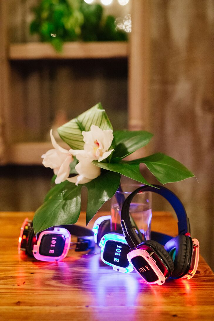 Silent Disco Headphones at Pippin Hill in Charlottesville, Virginia