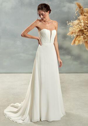 Demetrios L1022 A-Line Wedding Dress