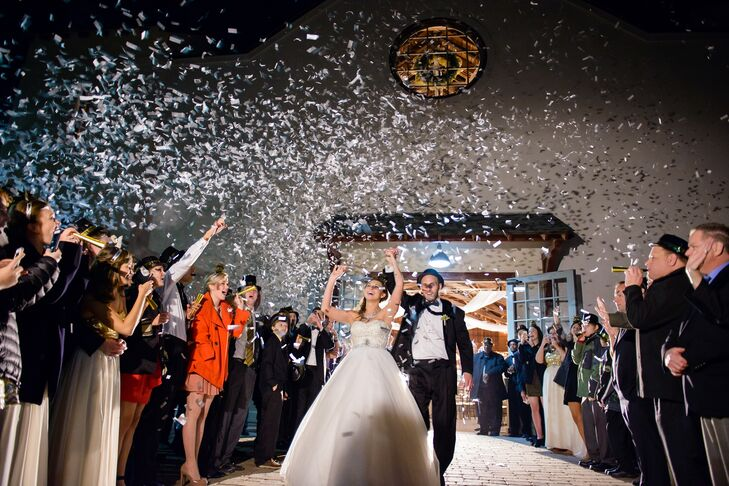New Year's Eve Confetti Grand Exit