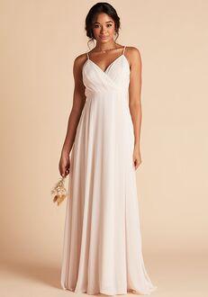 Birdy Grey Kaia Dress in Champagne V-Neck Bridesmaid Dress