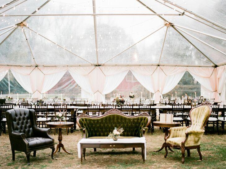 Alternative Wedding Reception Filled with Vintage Flea Market Finds