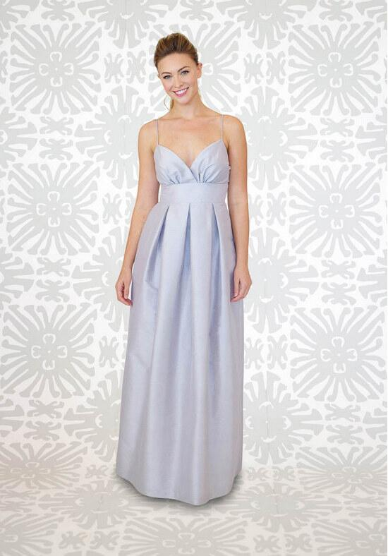 LulaKate Jacqueline Long Bridesmaid Dress photo