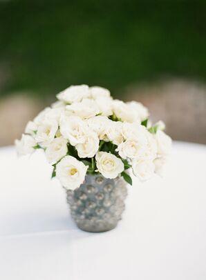 Antique Silver Vase