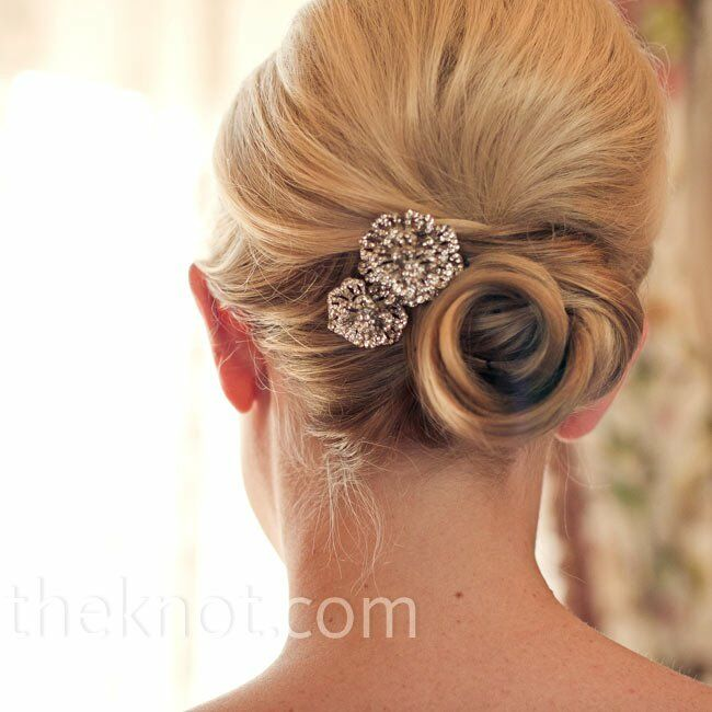 Crystal Flower Hairpieces