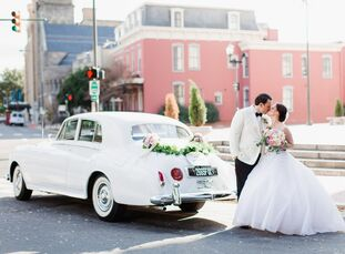 Ashley Hatfield (29and a post-graduate student) andWatson Stelly (29 and an RTAA coordinator) held their wedding inside the grand ballroom atthe Je