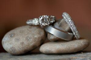 Classic Diamond Wedding Rings