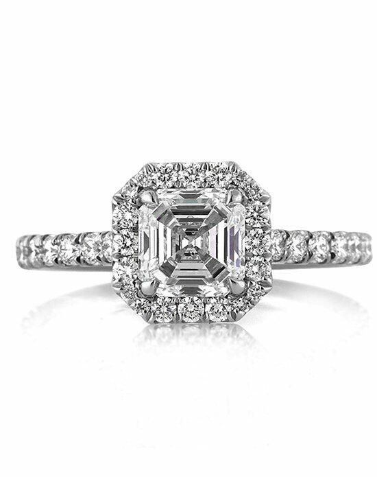 Mark Broumand 1.95ct Asscher Cut Diamond Engagement Ring Engagement Ring photo