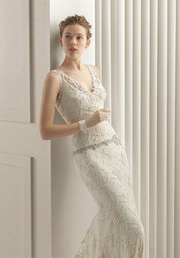 Rosa clar santander wedding dress the knot for Santa rosa wedding dresses