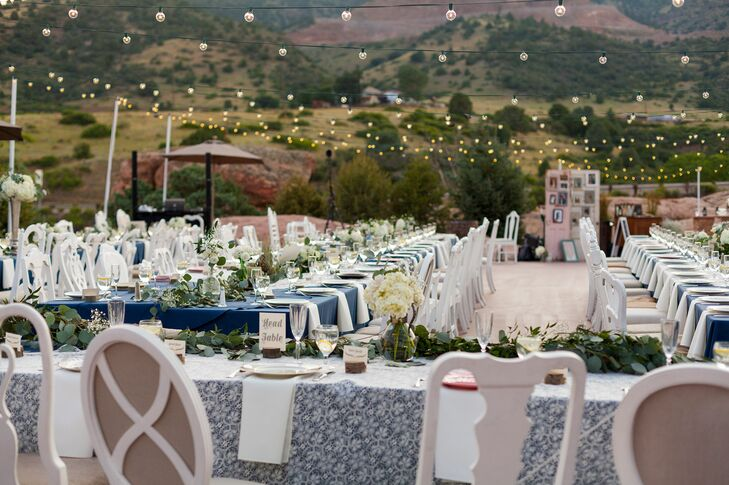 An Outdoor Reception at Willow Ridge Manor