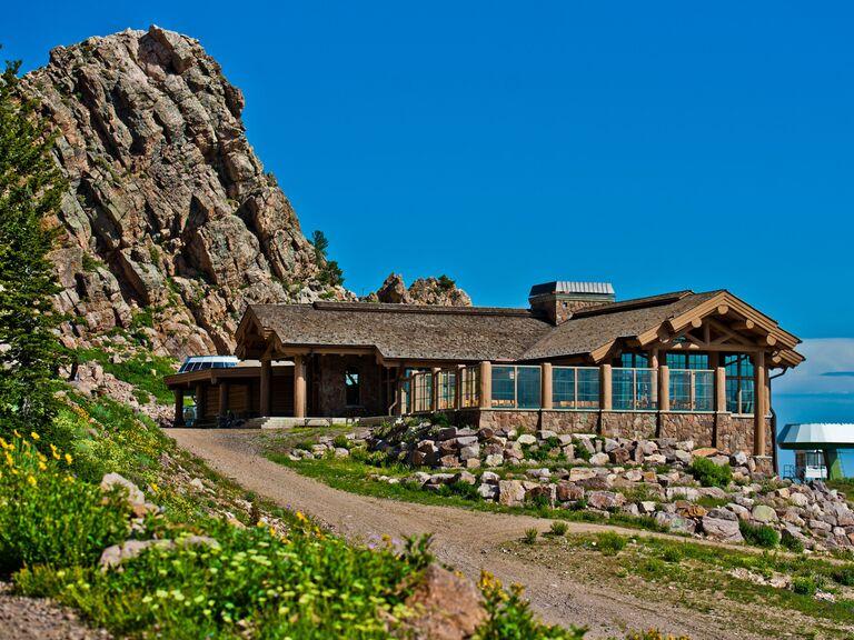 Wedding venue in Huntsville, Utah.