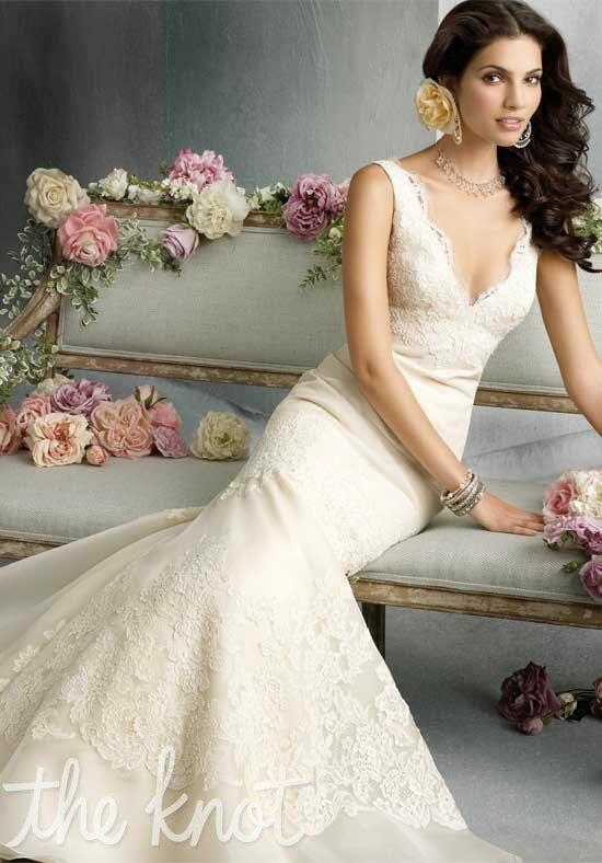 Jim hjelm 8800 wedding dress the knot for Wedding dresses the knot
