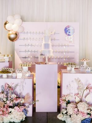 Dessert Display at Wedding at Greengate Ranch and Vineyard in San Luis Obispo, California