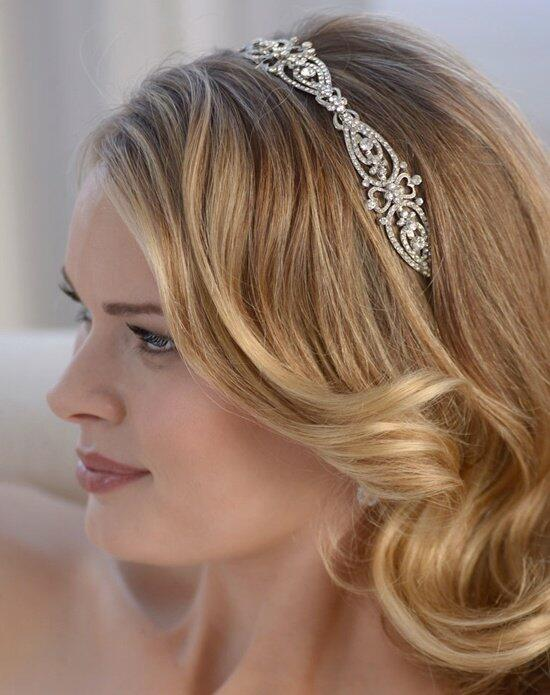USABride Jade Antique Silver Headband TI-3215 Wedding Headbands photo