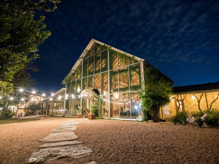Wedding venue in Austin, Texas.